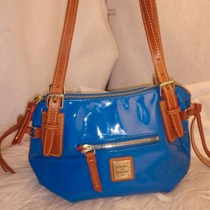Authentic blue Dooney & Bourke purse handbag
